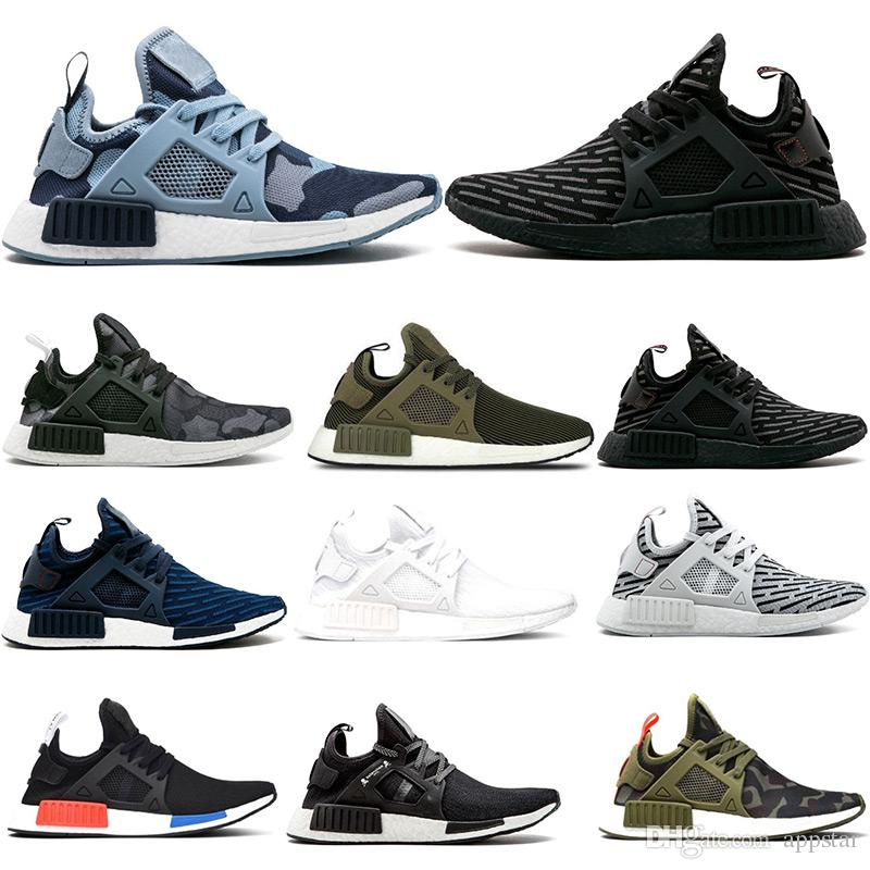2ca123b36 2019 High Quality NMD XR1 Running Shoes OG Zebra Mastermind Japan Stripe  Black Olive Green Black White Navy Camo Men Women Sports Shoes 36 45 From  Appstar