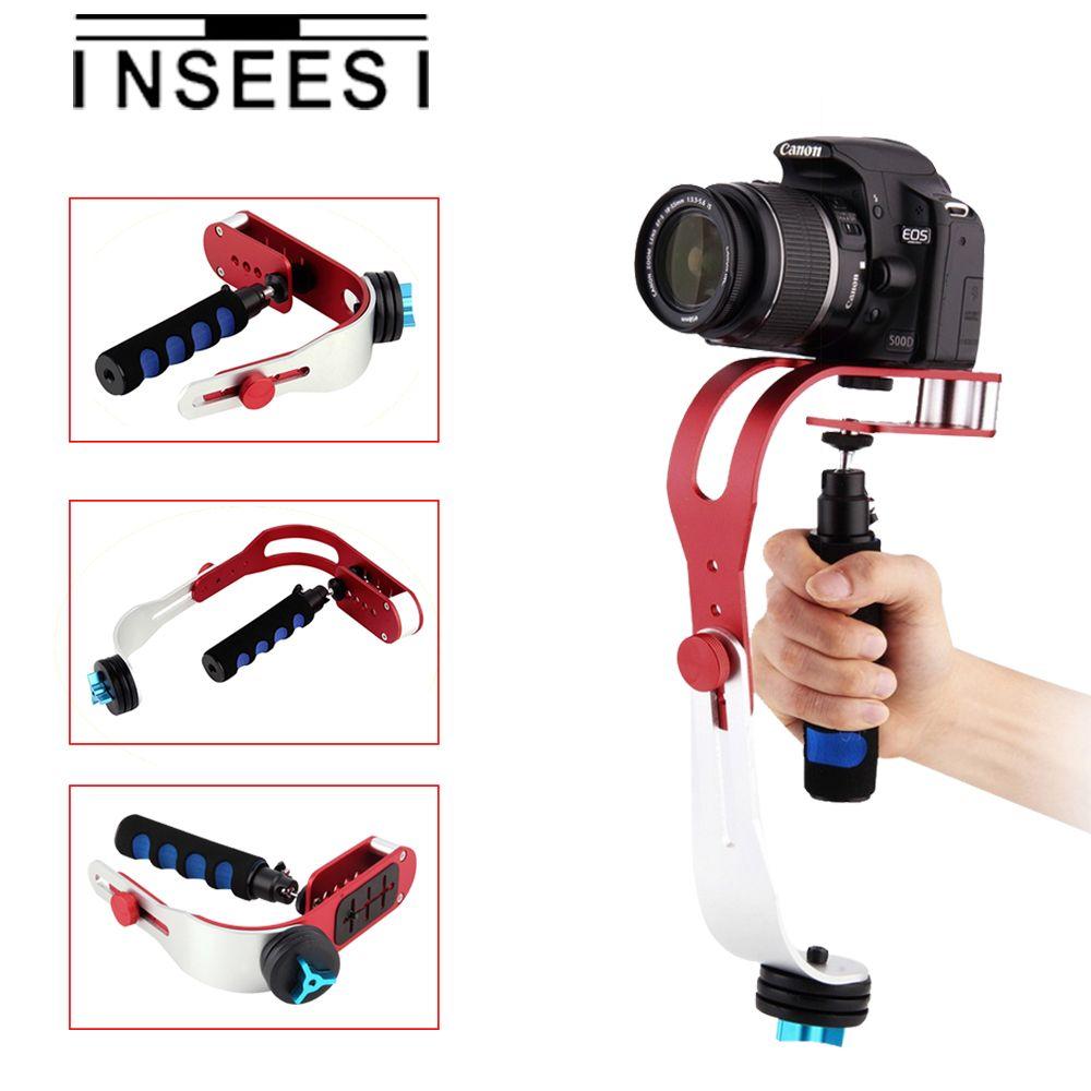INSEESI Handheld DSLR Camera Video Stabilizer Holder Motion Steadicam For  For Canon Nikon Sony Camcorder DSLR DV Wholesale