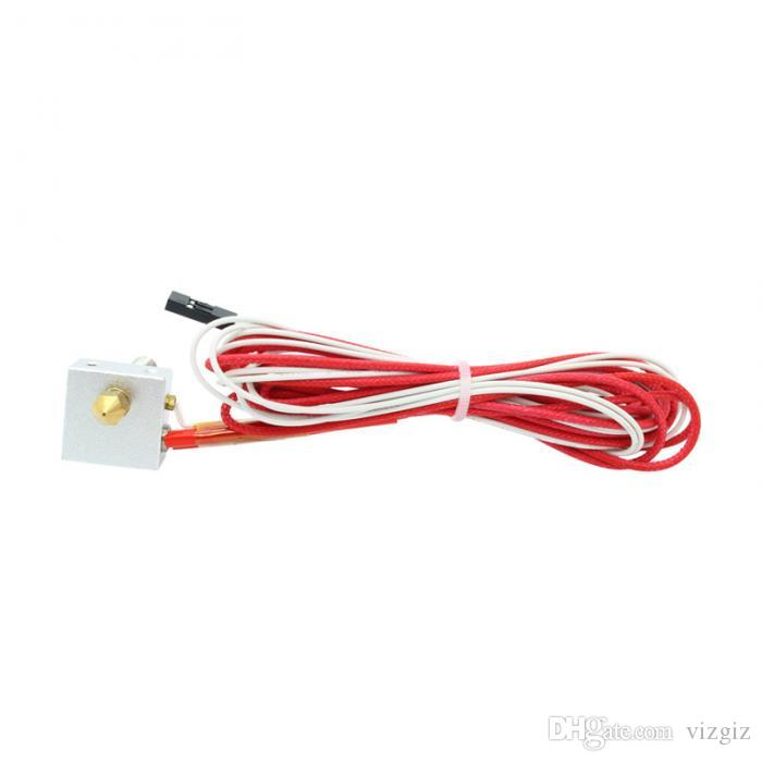 12V 0.4mm MK8 Nozzle Extruder Hot End Kit for 3D Printer XXM8