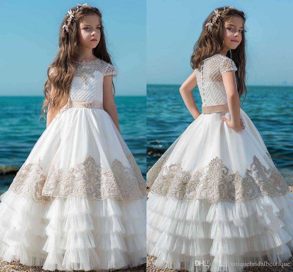 Vestidos para primera comunion de nina 2019