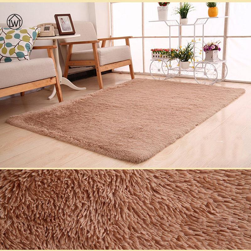 Home Textile Living Room Carpet Big Size Mat Long Hair Sofa Bedroom Rug  Table Carpet Bedroom Mat 40*60cm 80*200cm Pad Morden Cost Of Carpet Carpet  ...