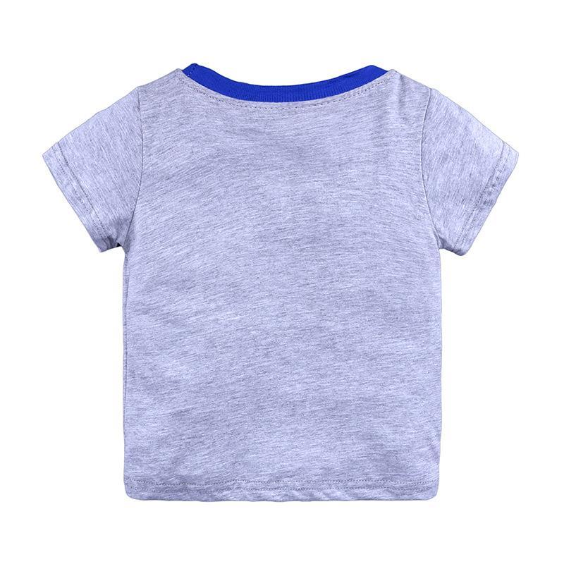 الأولاد القمم صيف 2018 العلامة التجارية الأطفال تي شيرت الأولاد ملابس الأطفال تي شيرت فيل 100 ٪ القطن الطابع طباعة بيبي بوي بنات الملابس