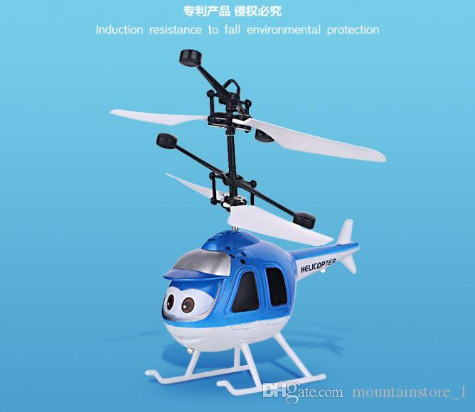 Flying Ball Helicopter RC Flying Ball Drone Helicopter Ball Built-in Shinning LED Lighting Flying Toys Good Gifts for Kids Helicopter
