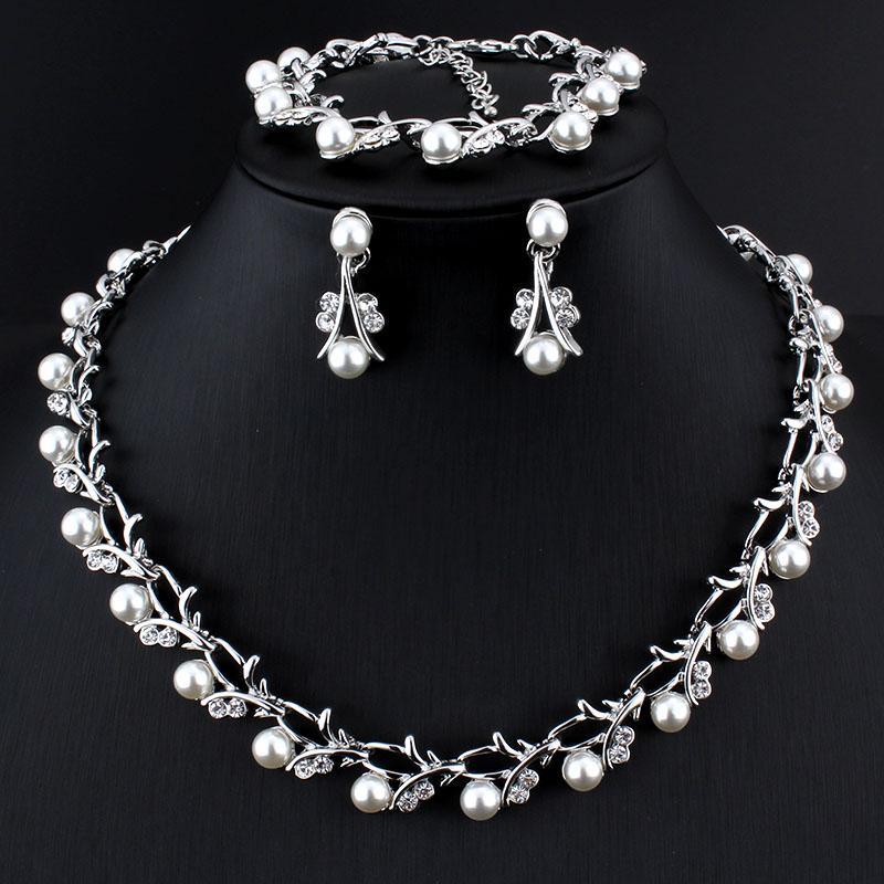 Verantwortlich Jiayijiaduo Afrikanische Perlen Schmuck Sets Gold Farbe Halskette Ohrring Armband Ring Hochzeit Frauen Schmuck Für Frauen Schmuck Brautschmuck Sets