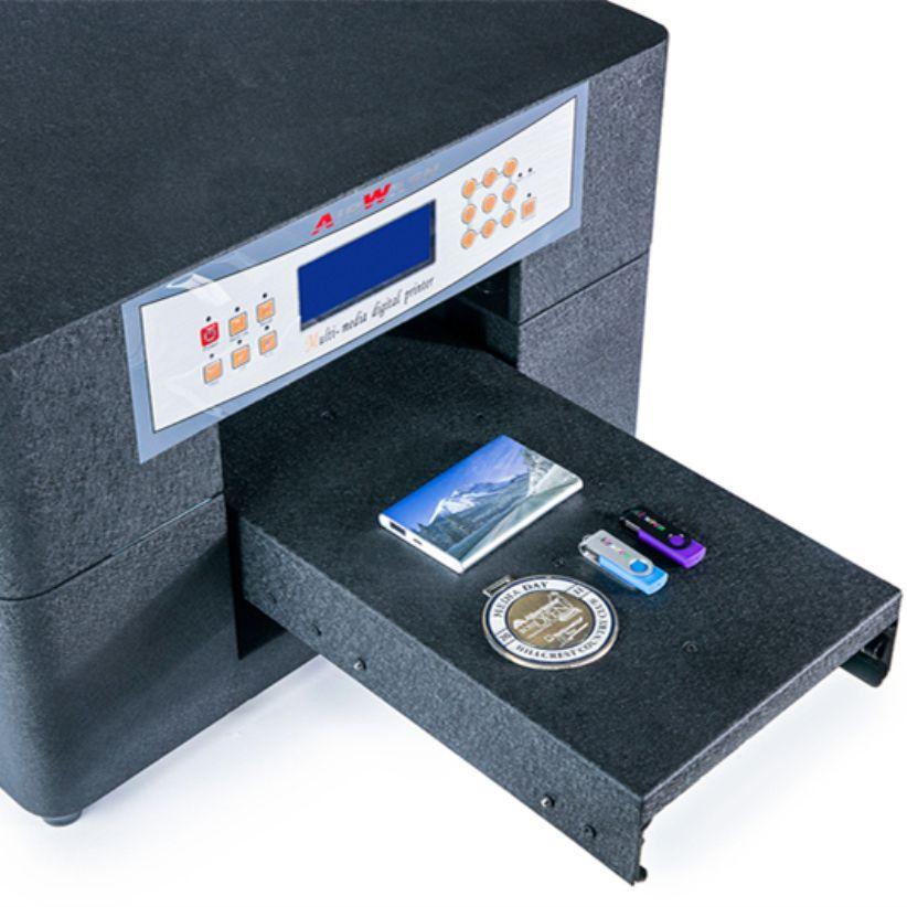 impressora uv a4 size business card printing machine AR-LED Mini6