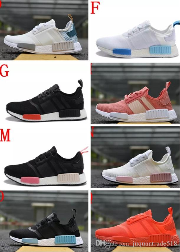 High Quality 2018 Runner Primeknit Discount Sales White Runner Sports Shoes Men Woman Running Boost With Box cheap wiki zNDcUK