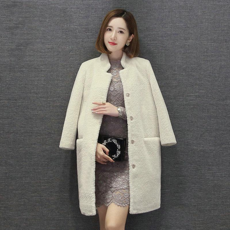 28fca60b533 100% Wool Mouton Coat Female Jacket Jackets Real Women S Fur Coats Winter  Asian Size 2018 C18110301 Cheap Leather Jackets Baseball Jackets From  Linmei0004