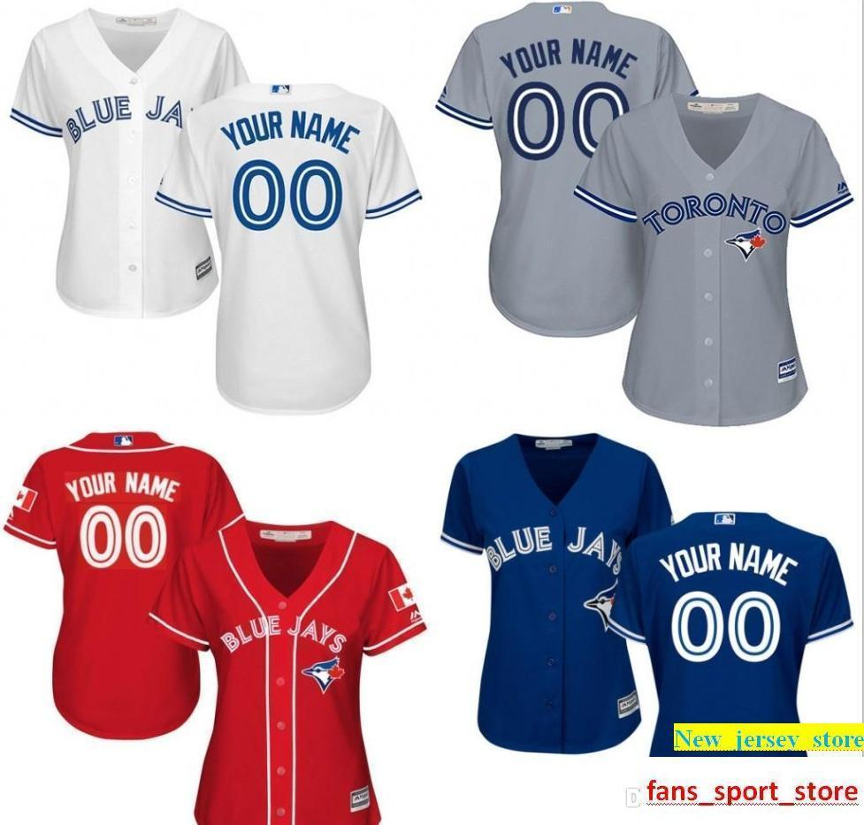 22baac776a1 2019 Women Customized Baseball Jerseys To Be Jays Personalized Custom Your  Name Number