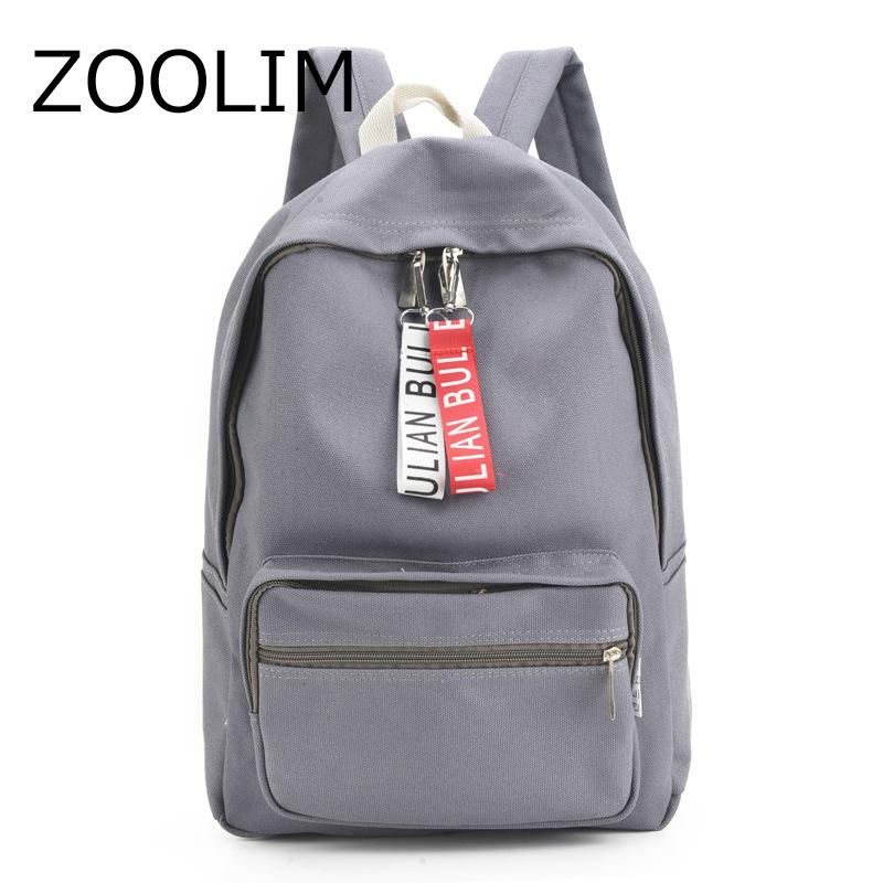 ZOOLIM Multifunction Women Backpack Youth Korean Style Ribbon Shoulder Bag  Laptop Schoolbags For Teenager Girls Boys Travel Back Travel Backpack Cute  ... 333e21281c95e