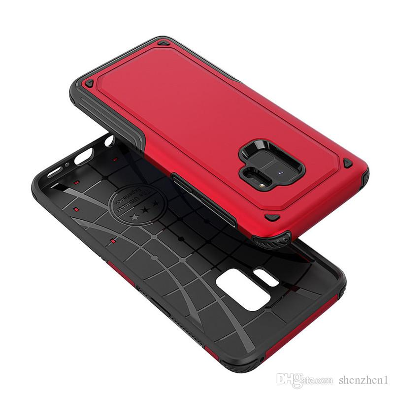 S9 S9Plus J7 J5 J710 J3Pro J530 2018 Hybrid Armor Reliable Back Case Heavy Duty Slim Phone Cover dhl free SCA402