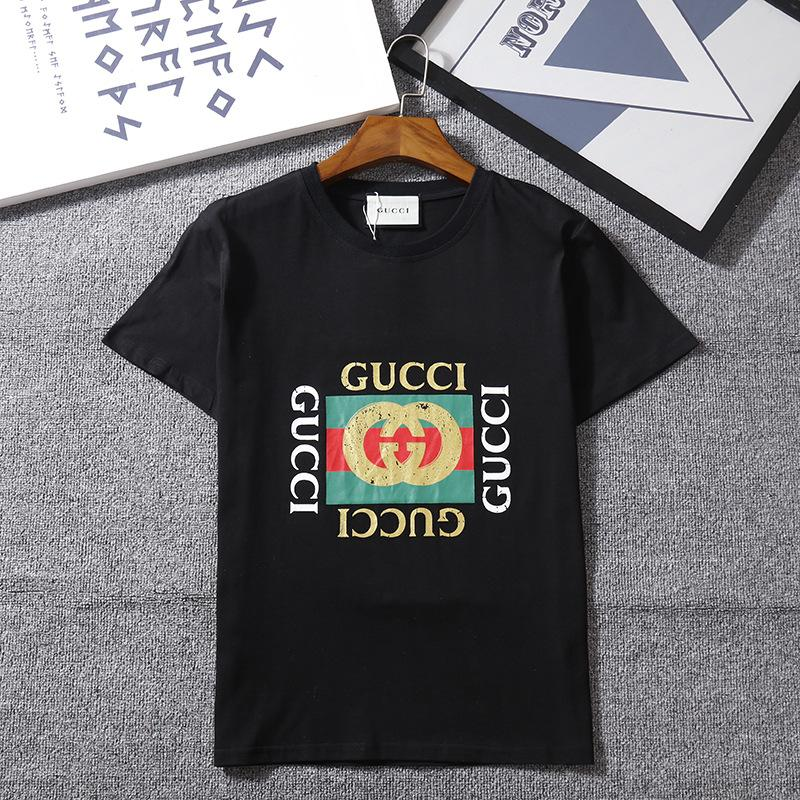 0484d2d8937 T Shirts for Men Women Luxury Brand T Shirts Summer Casual Couple ...