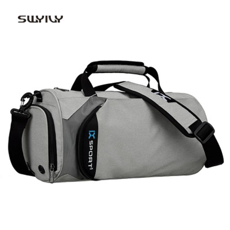 SWYIVY Outdoor Gym Bags Nylon Professional Sports Bag For Unises 2018 Large  Capacity Shoulder Bags Traveling Luggage Bag UK 2019 From Gqinglang c87b8f35fbdab