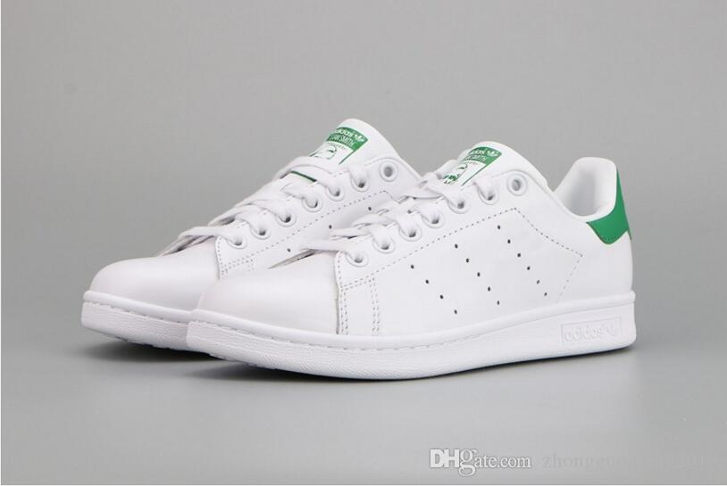 save off 9df62 21c46 New stan smith shoes 2017 Classic casual shoes Wholesale high quality smith  men running shoes casual leather women sport sneakers