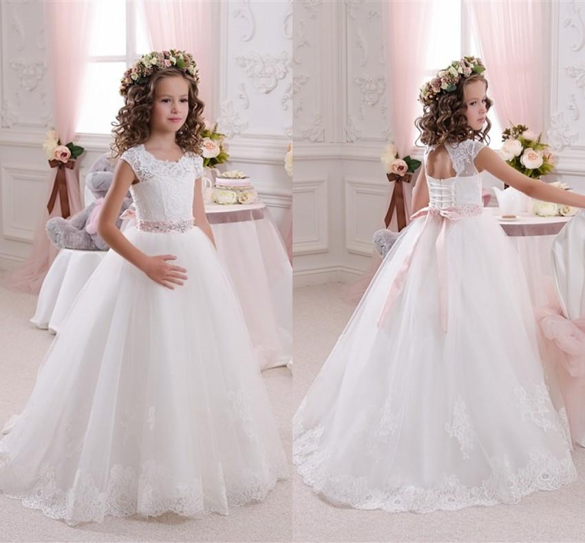 Only 59 Cheap Flower Girl Dresses Whiteivory For Weddings 2018