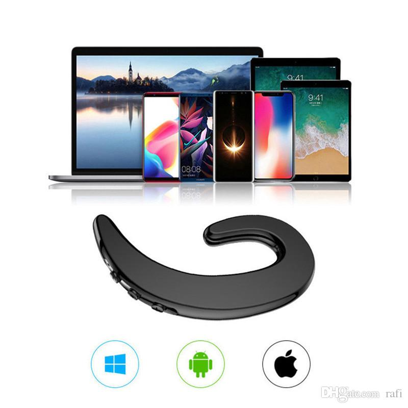 Fashion earphone S-103 Bluetooth Headphone Headset BT4.2+EDR Wireless Earphones Ear Hook with Mic nice item