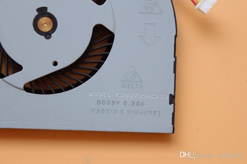 Новый оригинальный Delta 3.40 CFM модель KDB0705HCA05 DC05V 0.50 A ноутбук вентилятор охлаждения