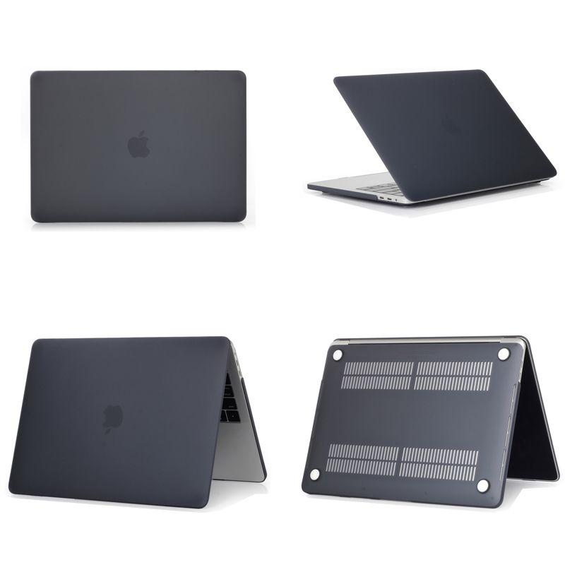super popular cace9 8b35c Black color matte case for macbook air 11.6, retina 12, air 13, pro 13,  retina 13 15