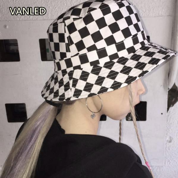 Outdoor Hat Bucket Caps Harajuku Women s Checkerboard Hat Street Casual  Couple Lovers Bucket Hat Outdoor Caps Bucket Hats Outdoor Caps Street Hat  Online ... c1294a3f253f