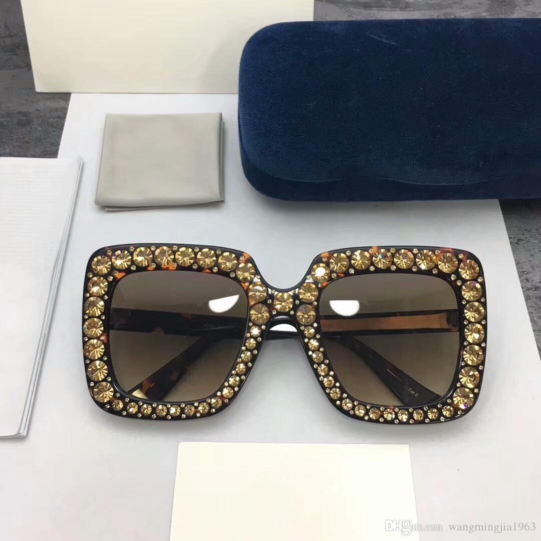 여성을위한 최고 품질의 여자 망 선글라스 0148 남자 태양 안경 패션 스타일은 눈을 보호합니다. UV400 렌즈 케이스