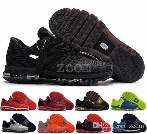 new product e19a6 8b885 Acheter Nike Air Max 2017 Kpu Amortir Mens Baskets Bengal Orange Sport Gris Noir  Chaussures Dorées 2019 Chaussure Taille 7 Athlétisme Tennis De Formateurs  ...