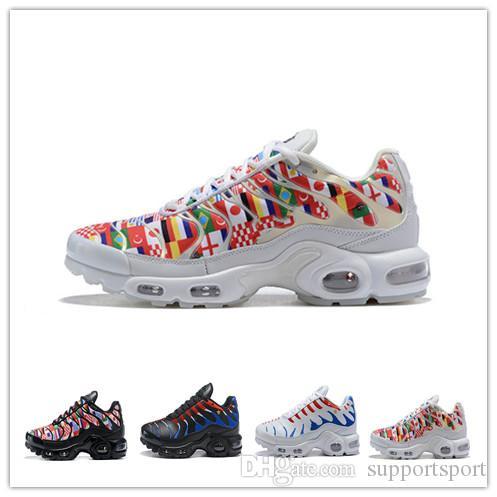 c24ac18611d TN Plus NIC QS 90 Designer Shoes International Flag Men Women ...