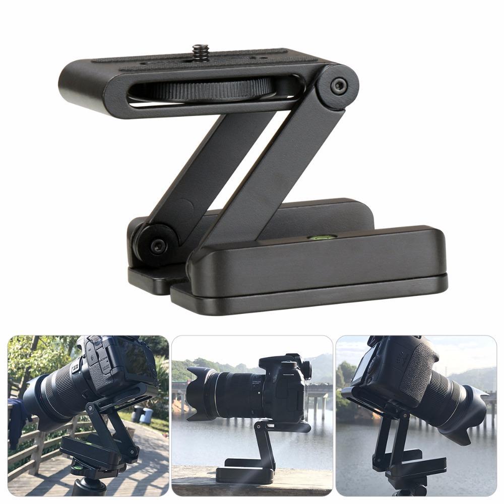 Ulanzi Camera Flex Tripod Z Pan Tilt Ballhead Aluminum Folding Tripod  BRACKET Head Solution Photography Studio Cameras Camcorder