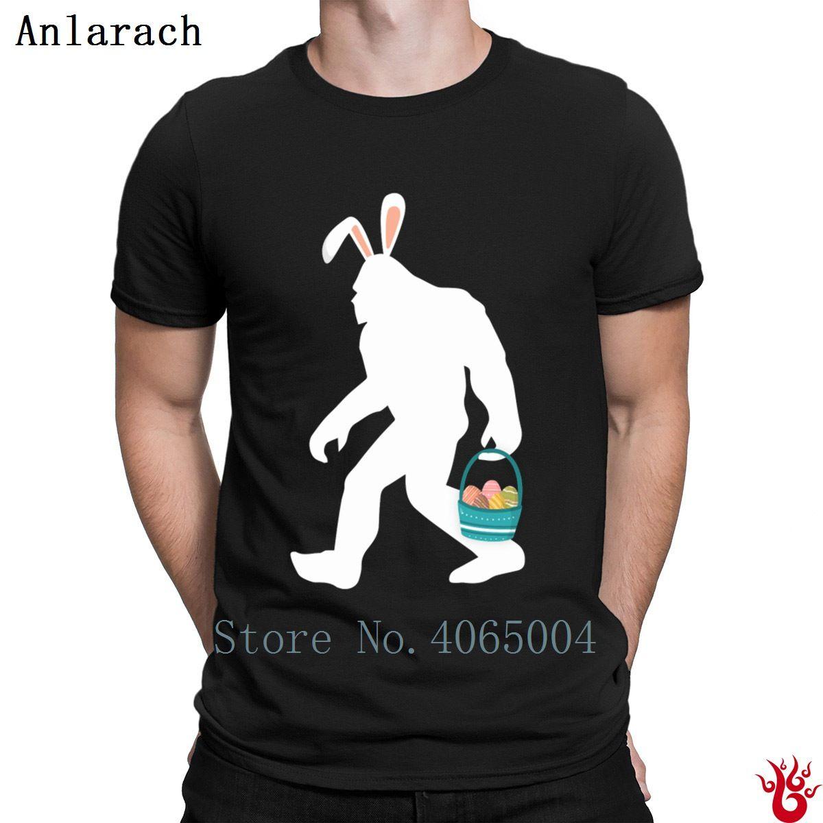174f696c3 Easter Egg Hunt Bigfoot T-Shirt Funny Trend Euro Size S-3xl Men's Tshirt  Summer Interesting Leisure Short Sleeve Pop Top Tee