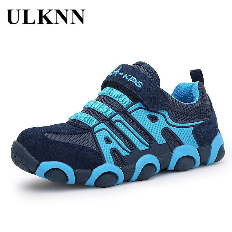 Sneakers Kinderschoenen.Ulknn Genuine Leather Boys Sneakers For Girls Shoes Kids Trainers