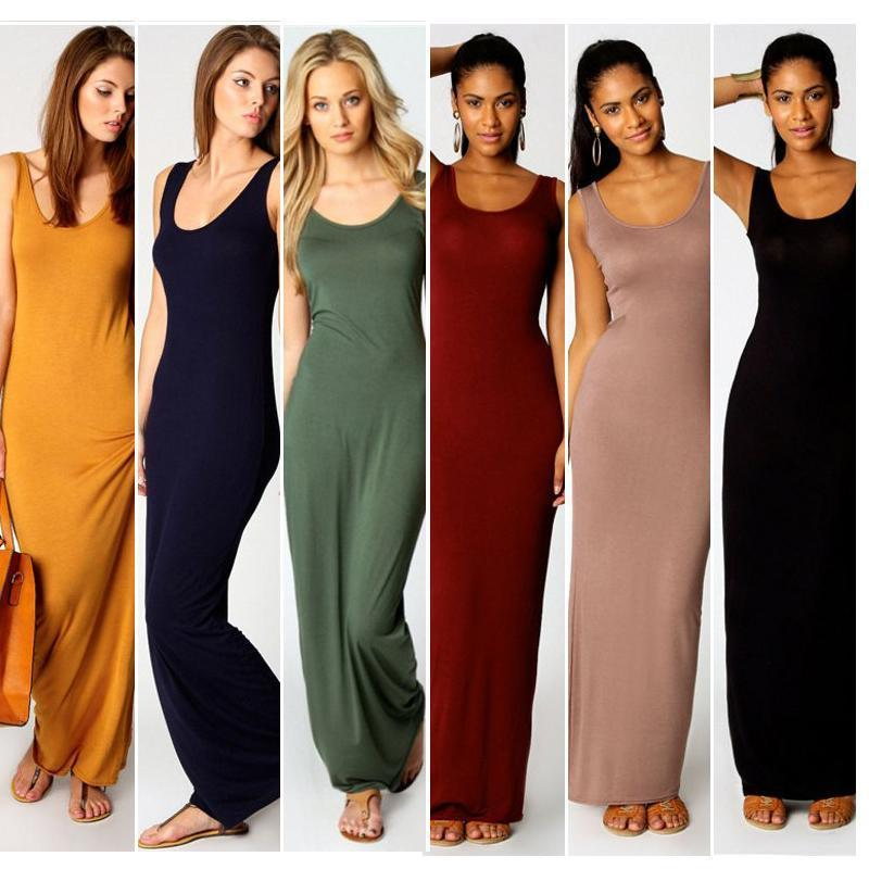 cb679a3219f Women Summer Dresses Clothes Stylish Pullover Maxi Dress A Type Knit Casual  Long Dress Short Sleeve Backless Lady Clothing Pocket Cheap Cocktail Dress  ...