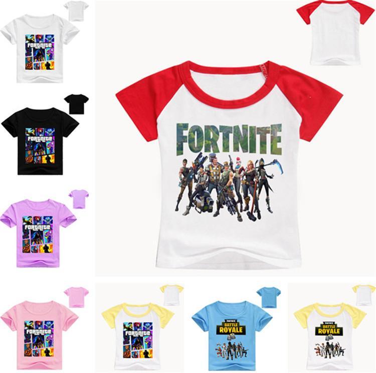 Compre es De Verano Para Niños Camiseta Fortnite Battle Royale ...