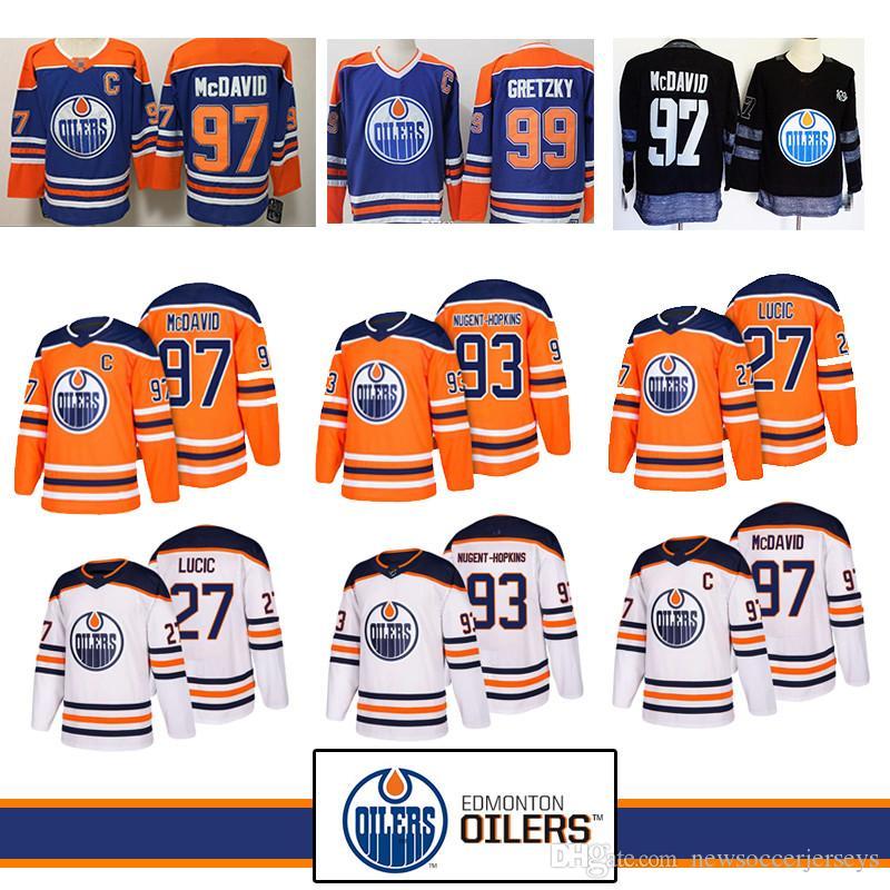 2863524e334 Top Quality 97 Connor McDavid Edmonton Oilers Jersey 93 Ryan Nugent ...