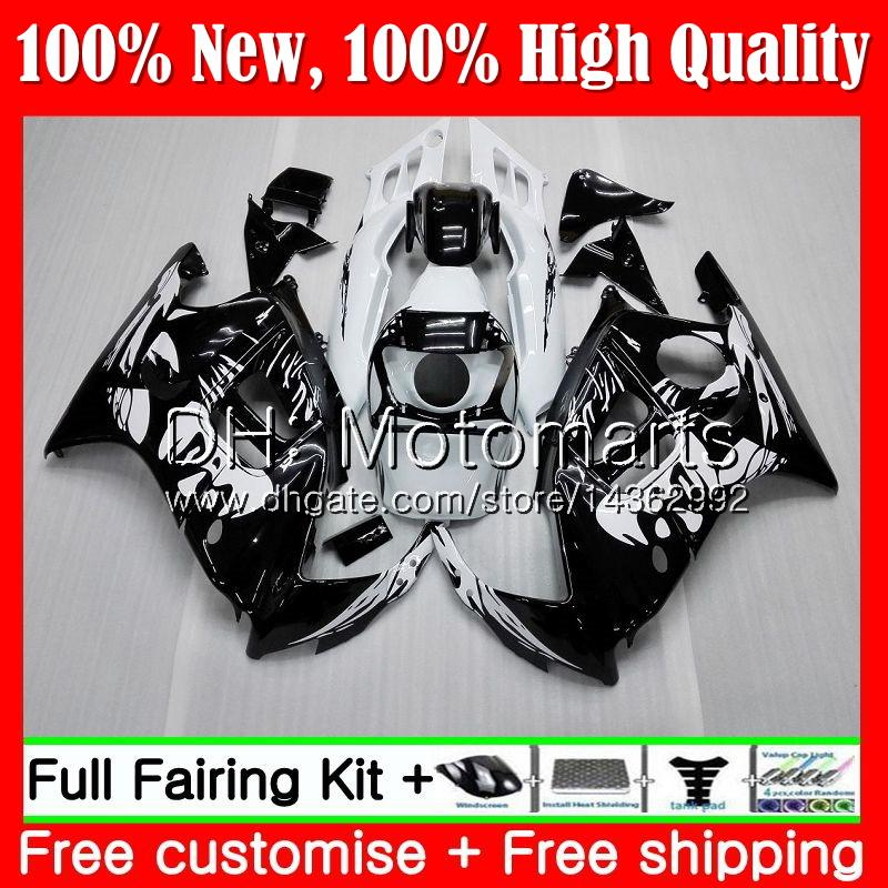 Graffiti negro Cuerpo para HONDA CBR 600F2 FS CBR600 F2 91 92 93 94 46MT1 CBR600FS CBR 600 F2 CBR600F2 1991 1992 1993 1994 Fairing Bodywork