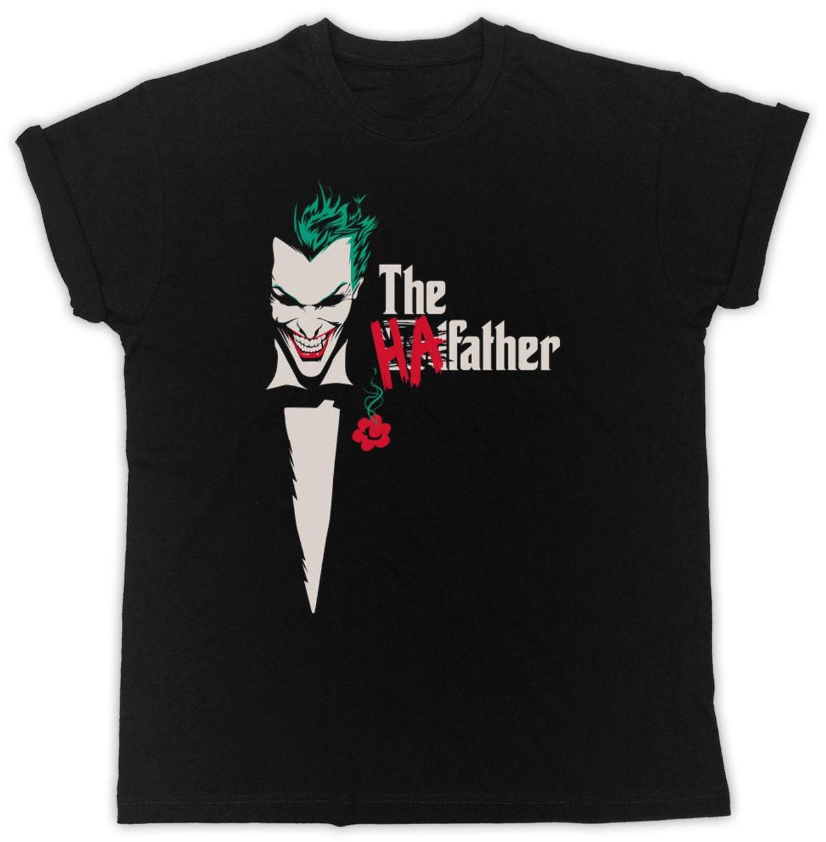 f21fc769eeb0 Batman The Dark Knight Joker Ha Ha T Shirt Heath Ledger Suicide Squad  Printed Men T Shirt Short Sleeve Funny Tee Shirts T Shirt Of The Day Buy  Tshirts From ...