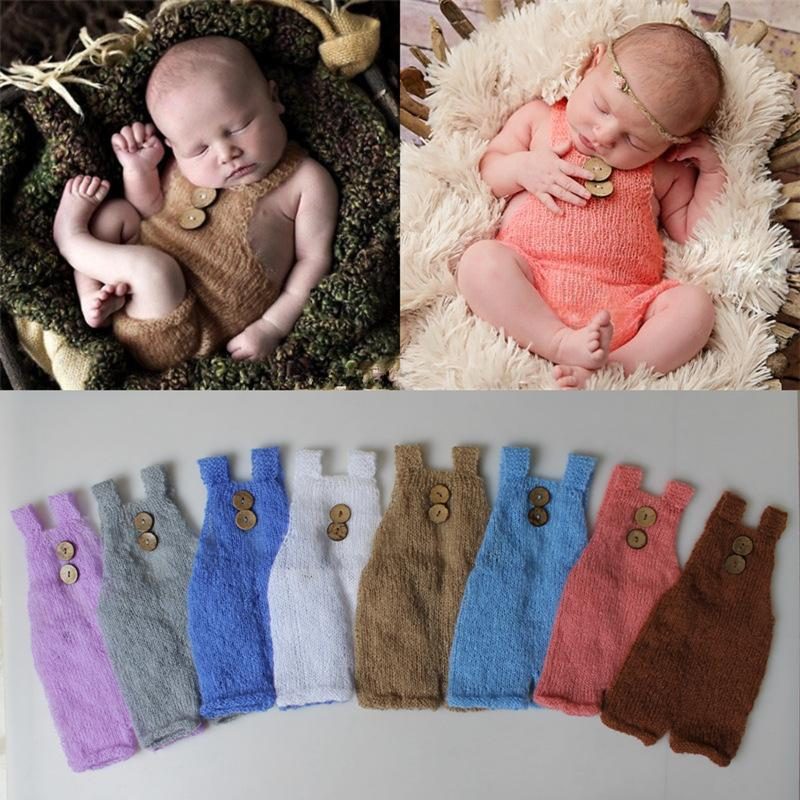 Newborn Photography Accessories Baby Sleeping Knot Hat Soft Comfortable Baby Photo Props Infant Shooting Outfits A Complete Range Of Specifications Accessories