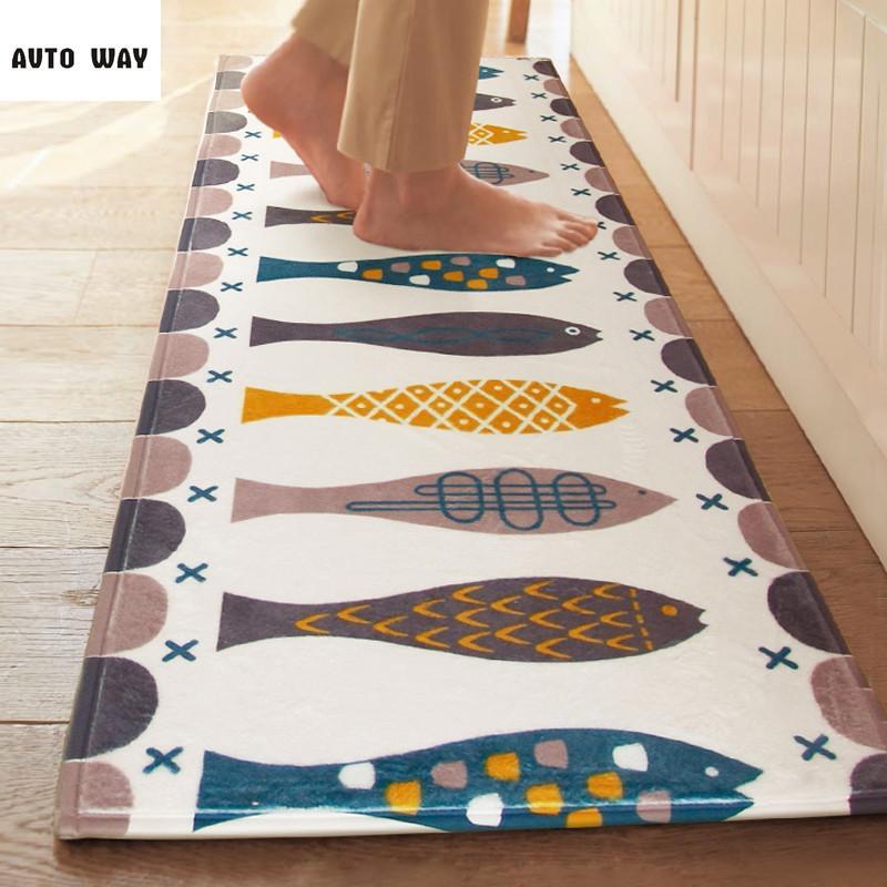 New Bedroom Bathroom Long Strip Of Non Slip Carpet Door Mats Kitchen Carpet Hieroglyphs Bohemia Rug 24x24 Outdoor Cushion Patio Cushions For Sale From ...