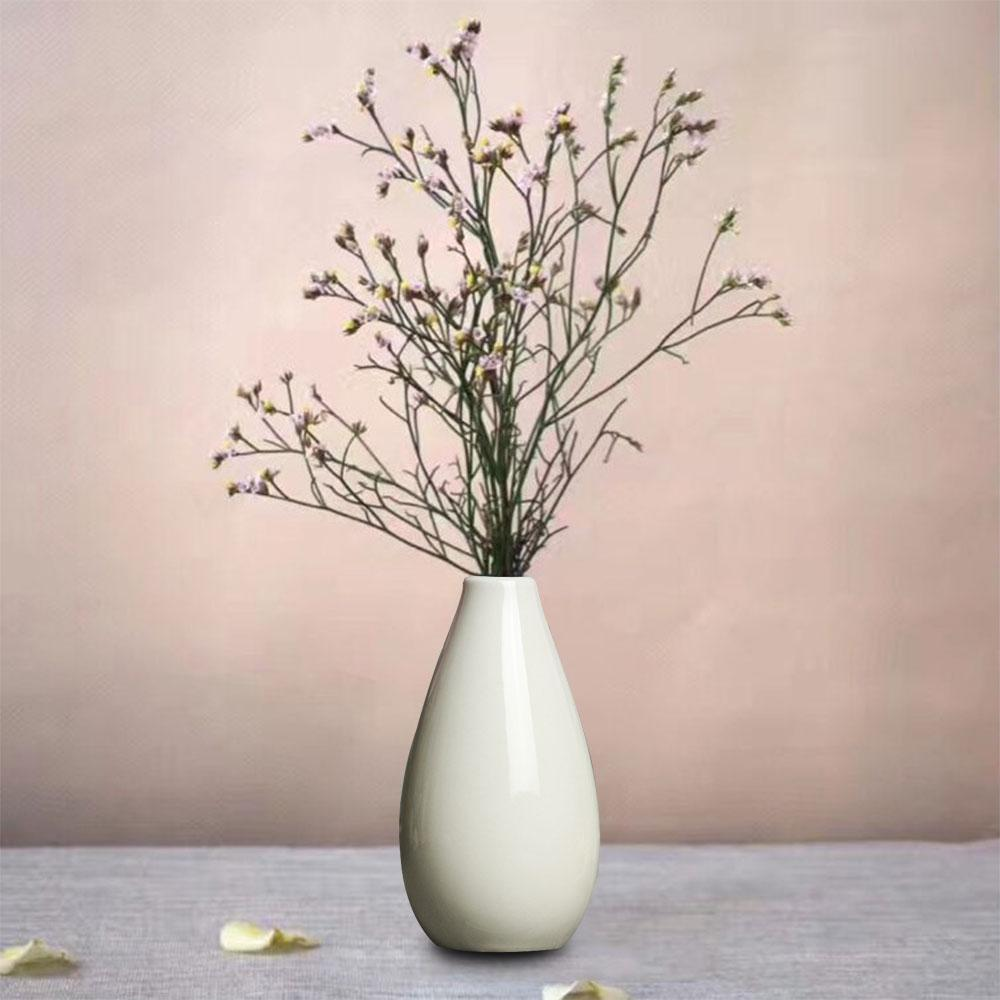 Wedding Decoration Mini Vase Pottery Flower Pot Smooth Ceramic Plant