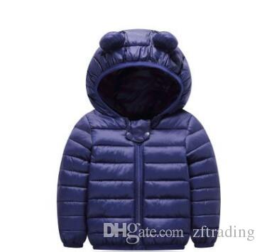 bff2666cf Cute Baby Girls Winter Warm Clothing Spring Autumn Winter Ear Hooded ...