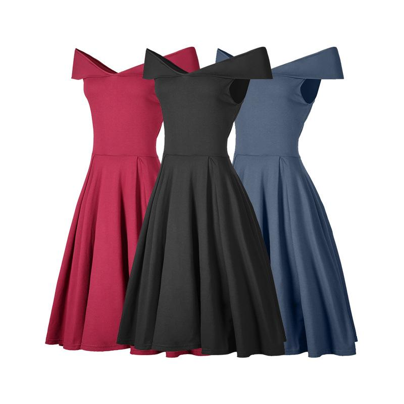 Party Prom Gowns Evening Dresses Vestidos Summer Off Shoulder ... 4550b8b69