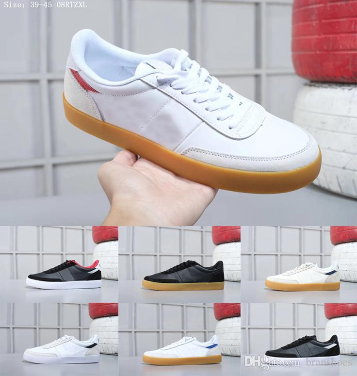 check out 29f3c adef7 Compre 2018 With Box Men Running Shoes Authentic KILLSHOT 2 LEATHER Mens  Skate Casual Low Classical Skate Sports Sneakers Talla 40 45 A 82.75 Del  Branshoes ...