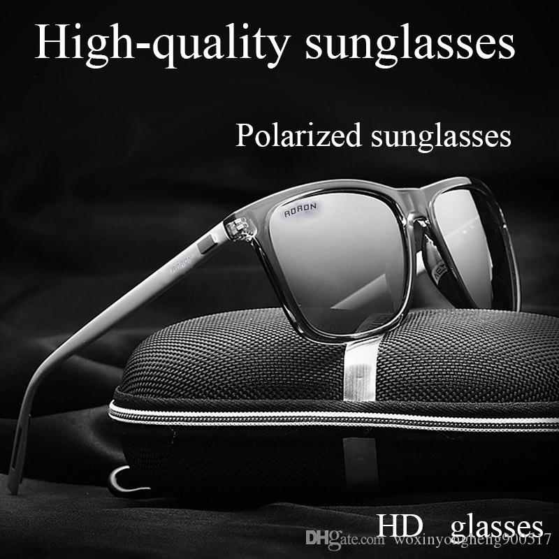 43c642faea High Quality Luxury Sunglasses for Men Unisex Retro Aluminum+TR90 ...