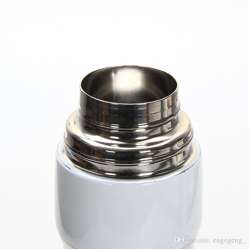 with classic logo Vacuum Cup Thermoses car bottle Flask Cups Garrafa Termica Inox lipstick cup Coffee Travel Vacuum Thermocup