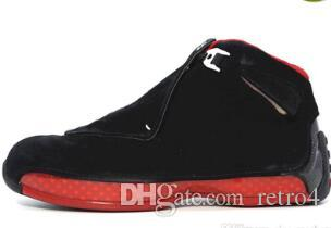 9414cef0398f Cheap New Men 18 18s Toro Basketball Sport Shoes Red Suede Yellow ...