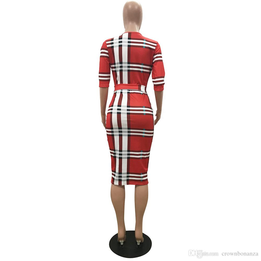 2018 Hot Sale vintage striped dresses Design Traditional African dress Dashiki Sexy deep V Neck African Dresses for Women clothing