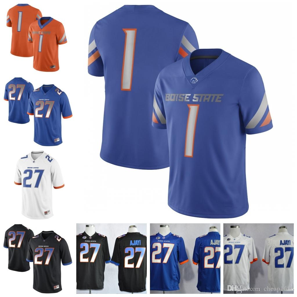 cheap for discount 91942 8bae4 NCAA Boise State Broncos #10 Chase Cord 22 Alexander Mattison 81 Akilian  Butler Stitched College Football Jersey