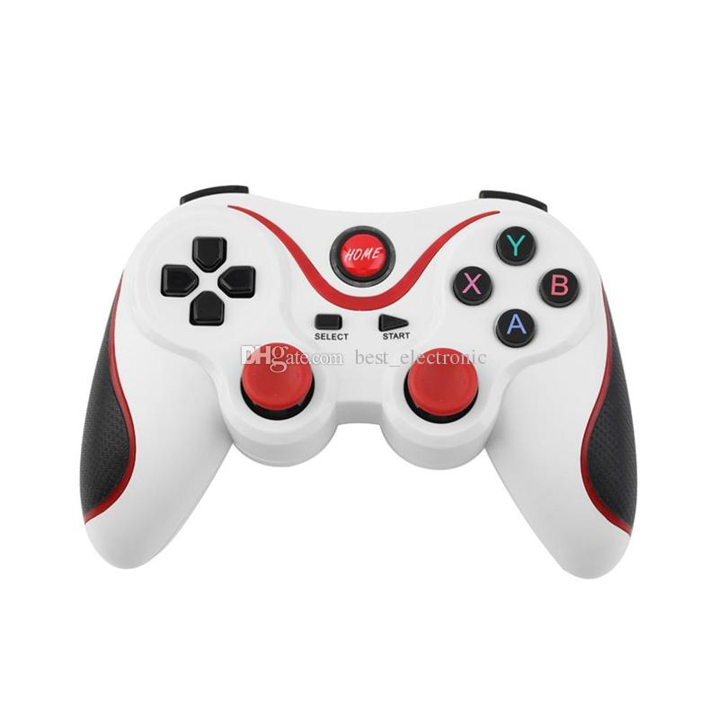 Terios T3 Wireless Bluetooth Gamepad Joystick Game pad Gaming Controller Remote Control for Samsung S7 S8 Android Smart phone Tablet TV Box