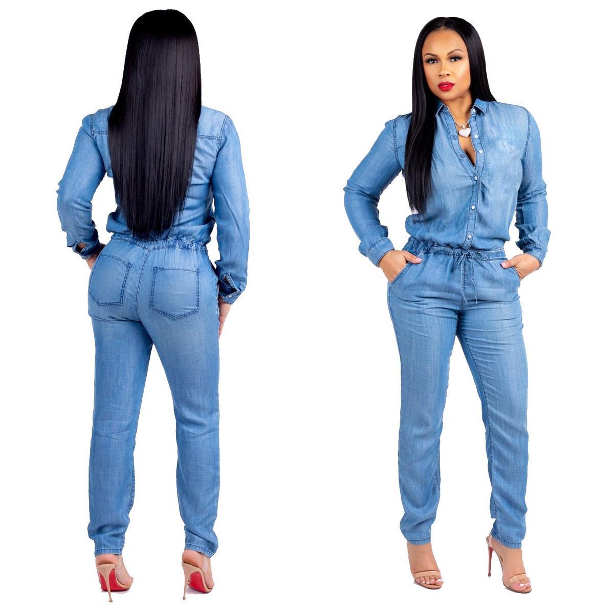 7abc88210c44e Compre Vaquero Casual Europeo Y Americano Hot Fashion Strappy Jeans Mujeres  A  23.12 Del Cui325