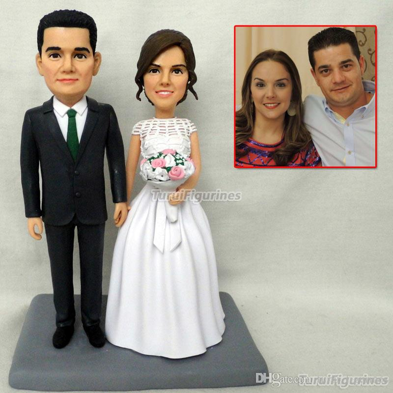 Wedding Gift Ideas For Bride And Groom.Special Gift Wedding Toys Mini Wax Figure Custom Birthday Bride And Groom Wedding Gifts Ideas Wedding Unique Handmade Gift Doll