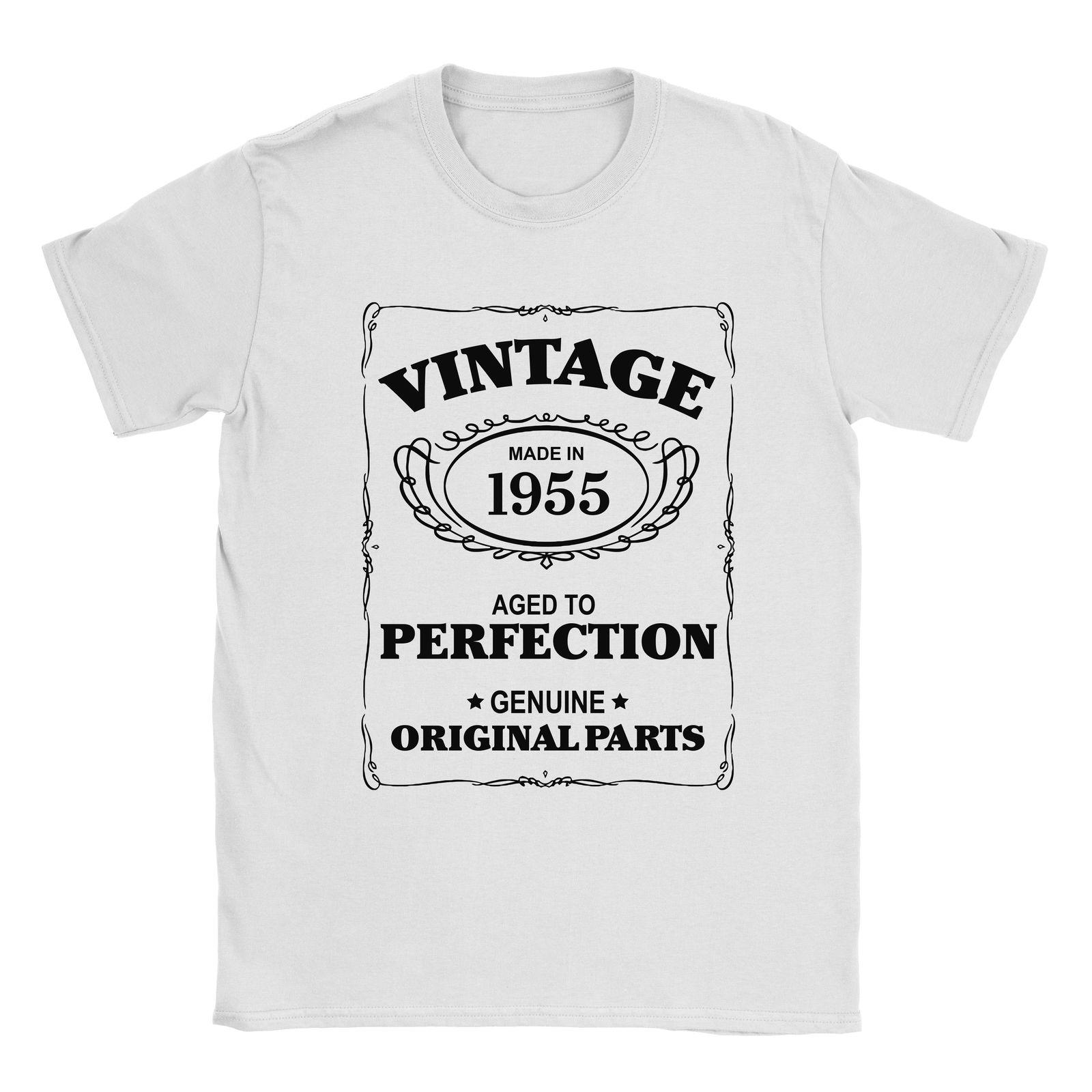 1955 To T Mens Gift Born Present In Age 63rd Birthday Aged Shirt mwv8yNn0O