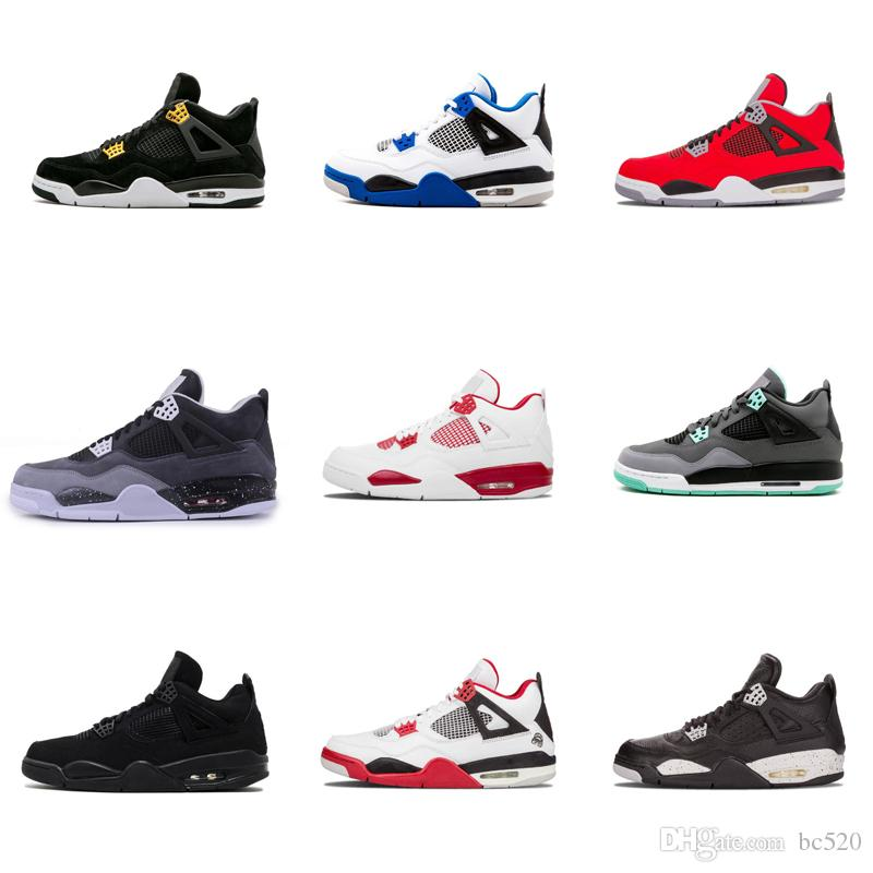 05d3005f11f Compre Nike Air Jordan 4 Travis Houston Azul 4 Raptors 4s Hombre Zapatillas  De Baloncesto Pure Money Black Cat Cemento Blanco Bred Fire Red Fear  Zapatillas ...