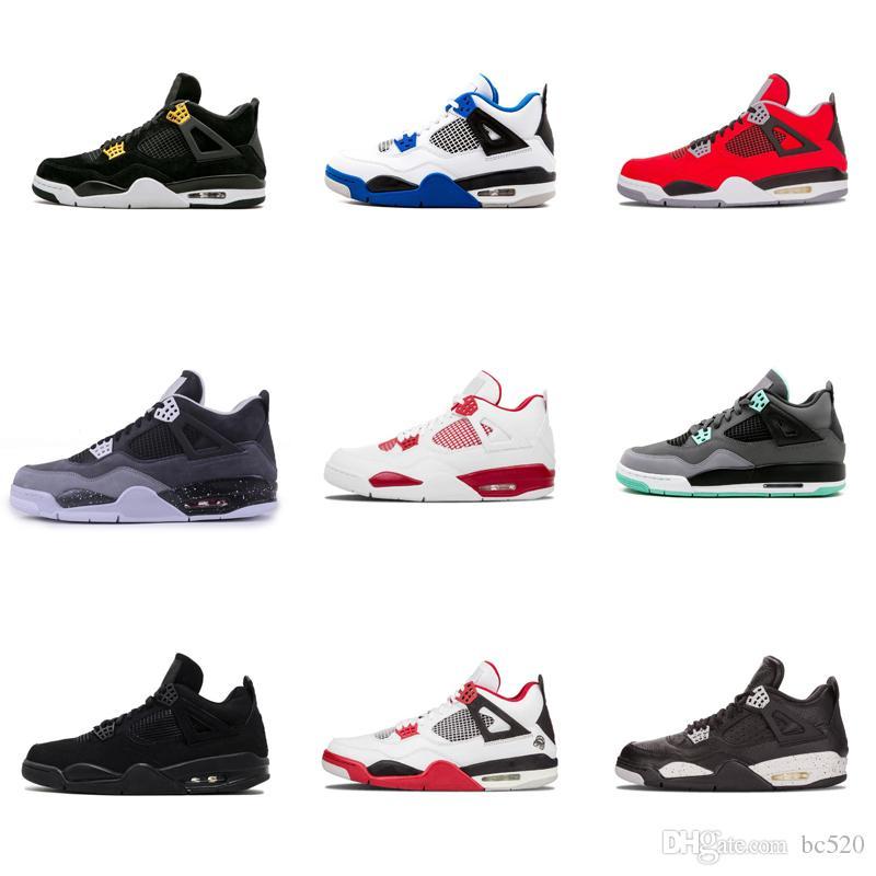 Ciment Jordan Bred Raptors Red 4 Fire De Pure Houston Money Black 4s Nike Hommes Chaussures Air Cat Blanc Ball Travis Bleu Basket Fear CoeBrdxW